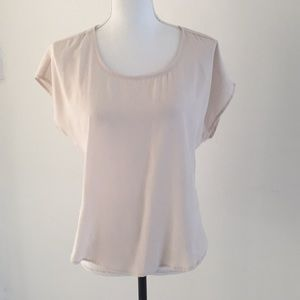 Forever 21 shirt sleeve basic top size small